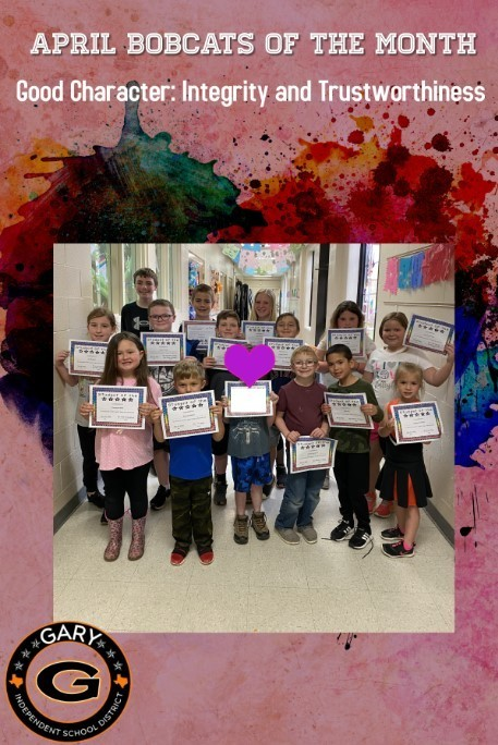 April Bobcats Of The Month